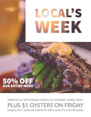 Locals Week
