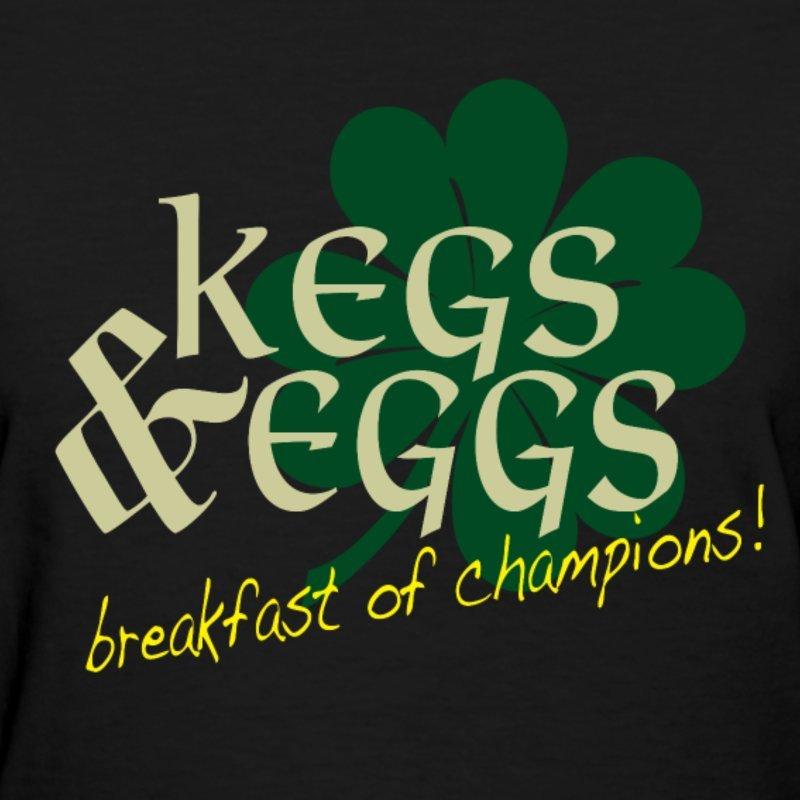 Kegs Eggs Women S T Shirt